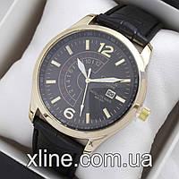 Мужские наручные часы Citizen B304 на кожаном ремешке