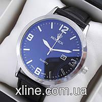 Мужские наручные часы Rolex T08 на кожаном ремешке