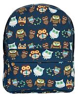 Модный рюкзак школьный с совами