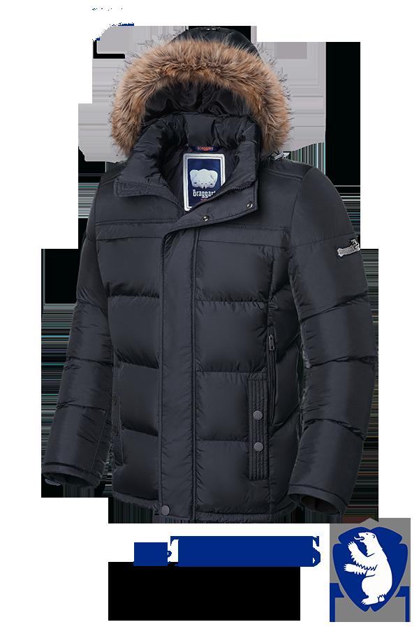 Мужская зимняя куртка больше размеры Braggart (р. 56-62) арт. 3617
