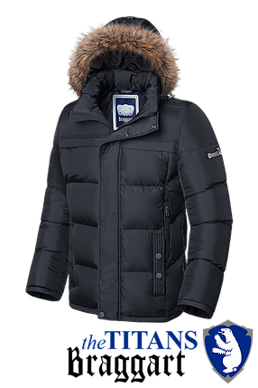 Мужская зимняя куртка больше размеры Braggart (р. 56-62) арт. 3617, фото 2