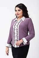Женская рубашка  больших размеров 50-58  SV AL 9951