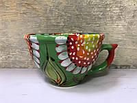 Чашка керамическая 100% ручная работа 0,5 л (64)