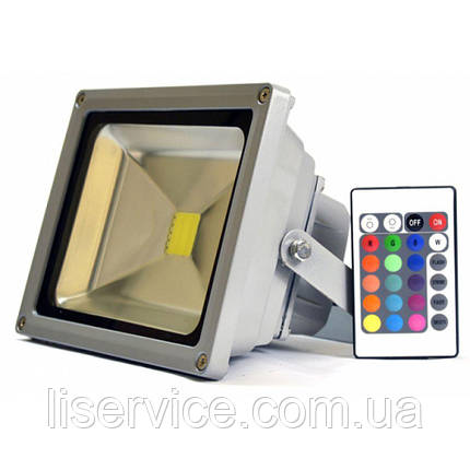 LED прожектор LEDEX 10W-800lm-RGB-IP65, фото 2