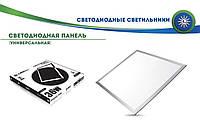 Потолочная светодиодная LED PANEL LIGHT LEDEX  36W  4000К 3000Lm 595*595*9mm