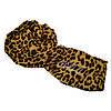 Шарф Леопардовый коричневый