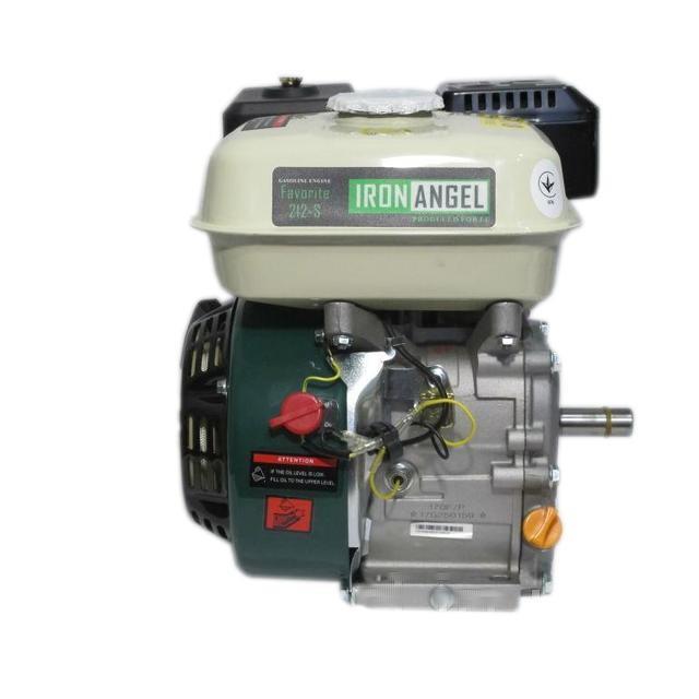 Двигатель бензиновый Iron Angel Favorite 212-S (7,5 л.с., вал 20мм, шпонка)