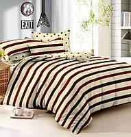 Семейное постельное белье с простыней на резинке 180*200*34, Яшма, сатин 100% хлопок