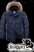 Мужская батальная зимняя куртка (р. 56-60) арт. 3865С