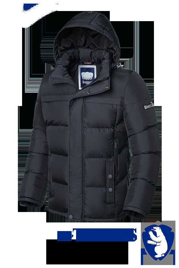 Мужская теплая зимняя куртка большого размера Braggart (р. 56-62) арт. 4917