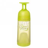 Бутылка с бокалом 602.2 пластиковая с заварником зеленого цвета