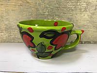 Чашка керамическая 100% ручная работа 0,5 л (66)