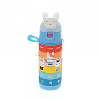 Детская бутылочка 702.2 пластиковая синего цвета