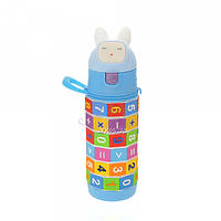 Детская бутылочка 704.2 пластиковая синего цвета