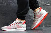 Кроссовки Adidas Bounce (серые с красным) летние кроссовки адидас adidas 4632