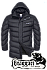 Мужская удлиненная зимняя куртка больших размеров Braggart арт. 2445