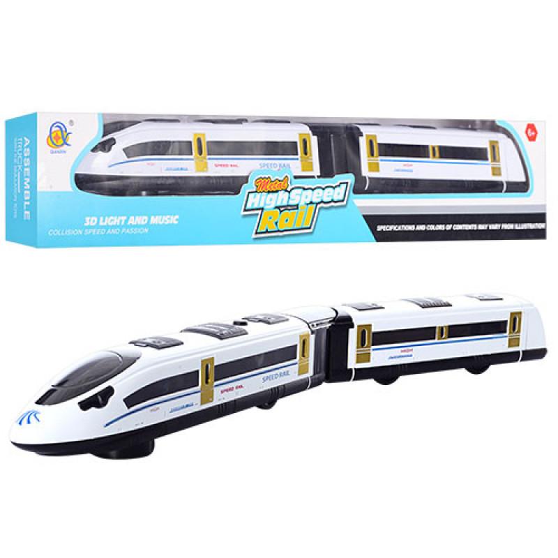 Поезд 45 см ездит, звук, 3D свет, 595-C-2