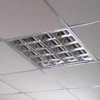Установка и подключение светильника потолочного Армстронг