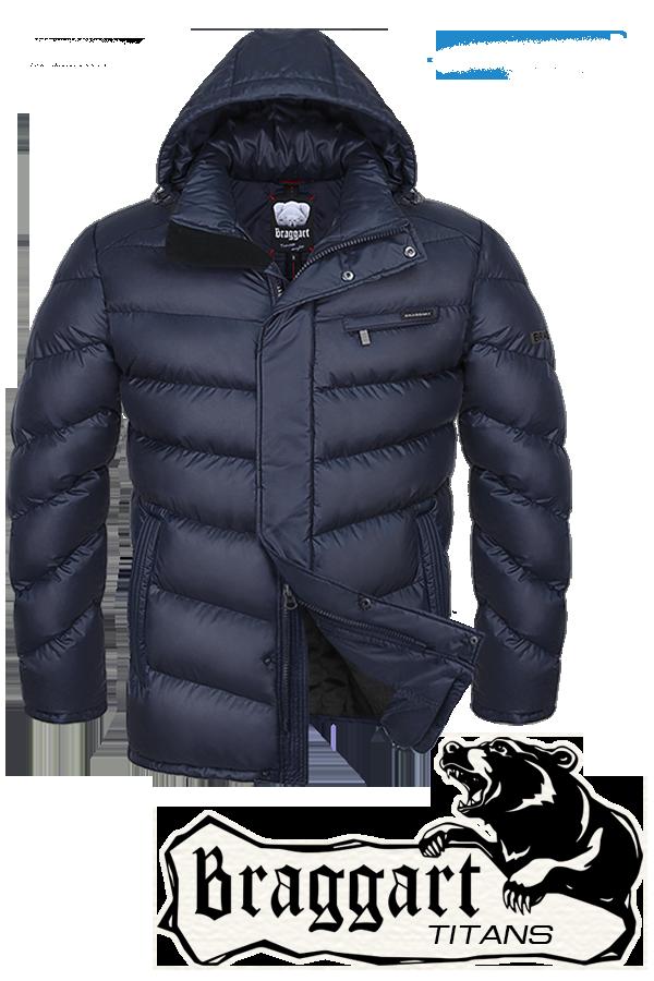 Мужская зимняя куртка больших размеров Braggart арт. 4493
