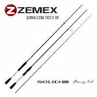 "Спиннинг ZEMEX ""SOLID"" 2,20 м 2,0-10,0 гр."