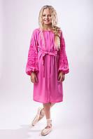 Платье для девочки нежно розового цвета, фото 1