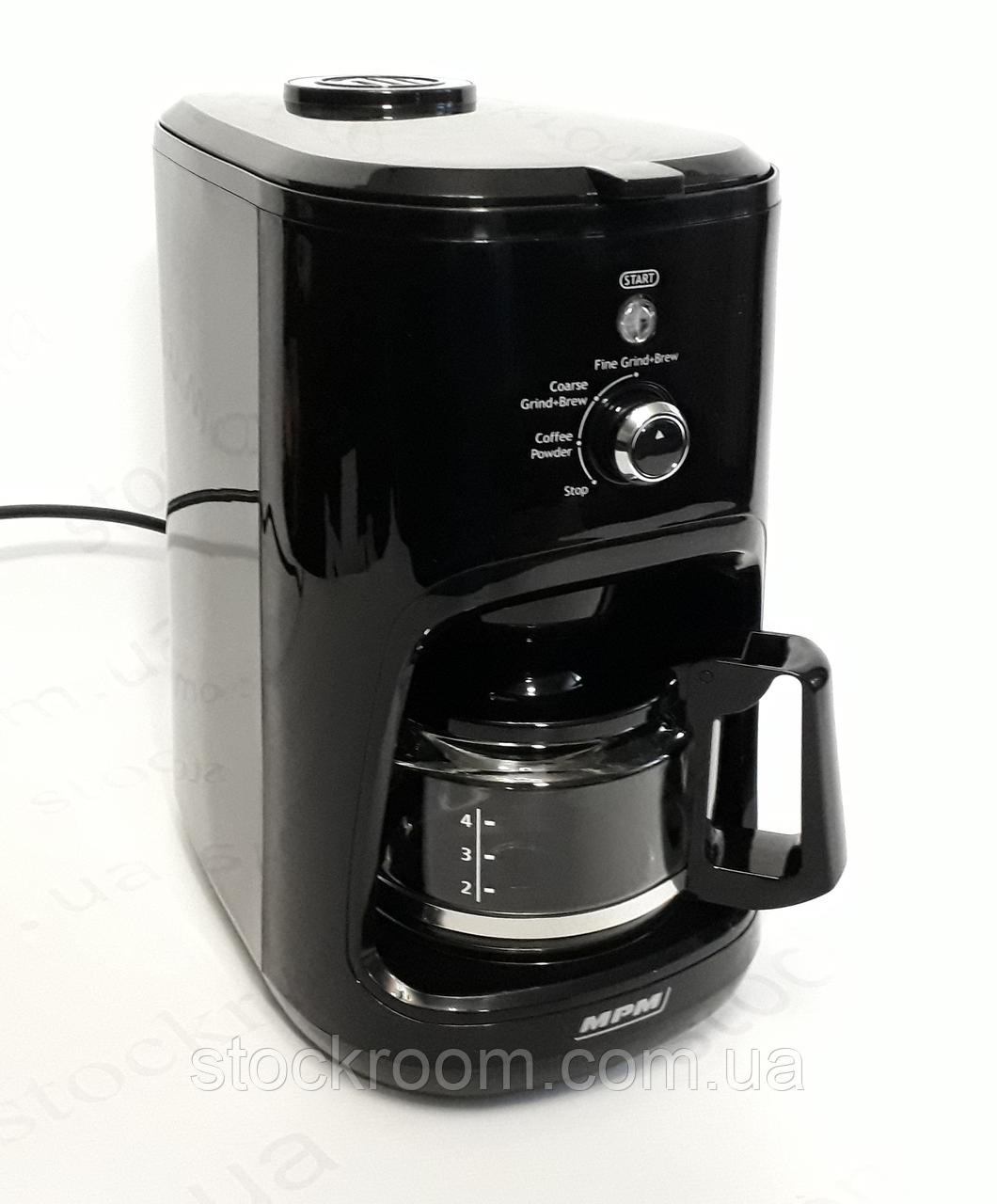 Кофеварка со встроенной мельницей для помола кофе MPM MKW 04