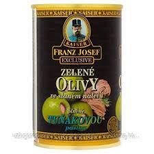 Оливки зеленые c лососем Franz josef Tunakovou 0.300 гр