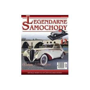 Модель Легендарные Автомобили (Amercom) №12 Delahaye 135M Figoni