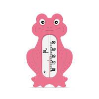 Термометр для воды Лягушка (розовый) Стеклоприбор