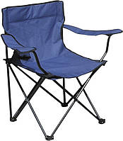 Раскладное кресло паук с подстаканником B15701 Blue