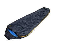 Спальный мешок BEST CAMP WILLIWA 210x75x50 темно-синий / 25036//Prawy/Lewy