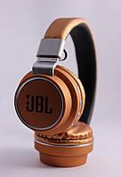 Беспроводные блютуз наушники с радио (автопоиск) JBL AZ-05 / Bluetooth / AUX / карта памяти / FM / микрофон