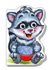 Єнотик (укр) Книжки-іграшки для малюків з серії Дружні звірята Ранок