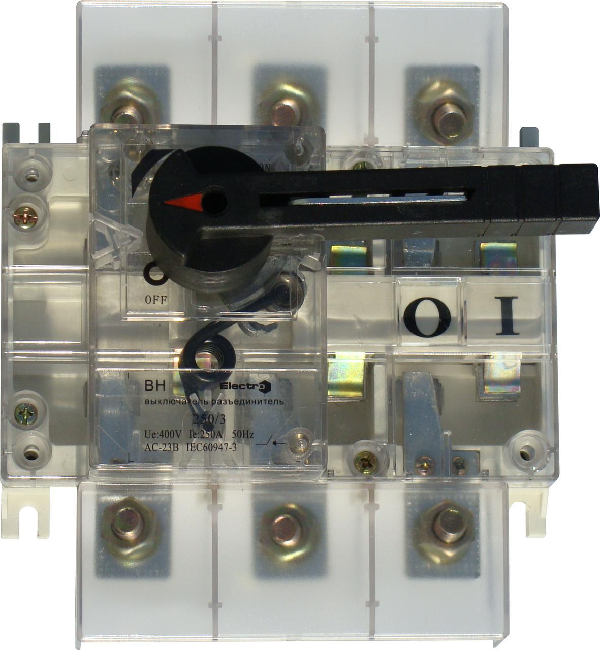 Вимикач навантаження ВН в корпусі 3п 400А