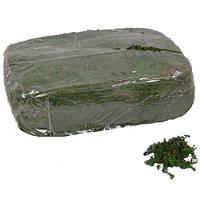Мох Зеленый натуральный для декора 900 грамм