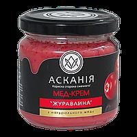 Крем-мед Клюква 250г