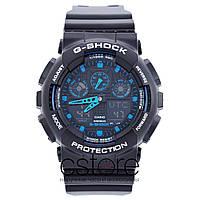 Мужские наручные часы Casio g-shock ga-100-1a2er (06653)