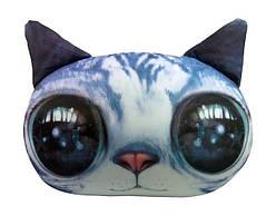 Мягкая антистрессовая игрушка Кот серый Danko Toys (DT-ST-01-02)