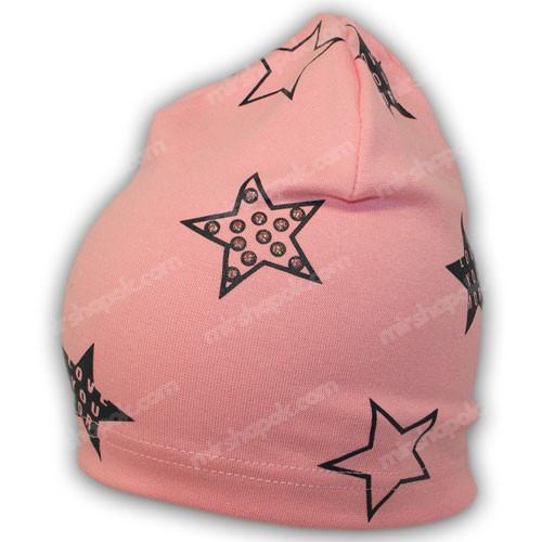 тонкая трикотажная шапка купить