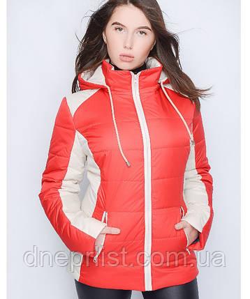 Куртка демисезонная женская № 15 (р. 44-56), фото 2