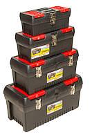 """Ящики для инструмента, пластиковые замки, набор 4 шт (12.5"""" /16"""" /19"""" / 24"""") Housetools 79K335"""