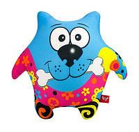 Мягкая антистрессовая игрушка Пёс-звезда синий Danko Toys (DT-ST-01-46)