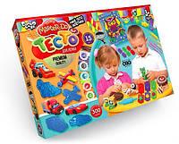 Тесто-пластилин набор 15 цветов по 20 гр с аксессуарами Danko Toys (TMD-03-04)