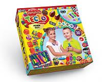 Тесто-пластилин набор 30 цветов по 20 гр с аксессуарами Danko Toys (TMD-03-02)