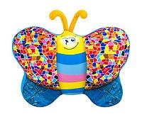 Мягкая игрушка-антистресс Бабочка джинсовая