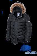 Мужская подростковая куртка с мехом Braggart Teenager (р. 40-46) арт. 7723
