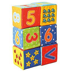 Цифры Набор мягких кубиков для малышей Vladi Toys