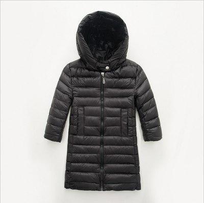 Куртка пальто детская  на пуху  цвет черный  86-92 см