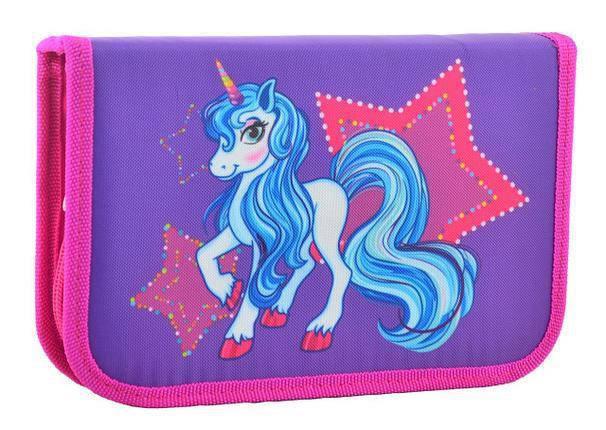 Пенал SMART 531701 2отворота Unicorn, фото 2
