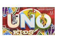 Детская настольная карточная игра Уно, UNO kids Danko Toys (SP G 11 d)